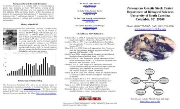 Peromyscus Genome project - Peromyscus Genetic Stock Center ...