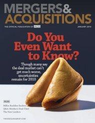 Miller Buckfire Evolves Q&A - Association for Corporate Growth