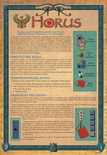 Reglas del juego (PDF) - Devir