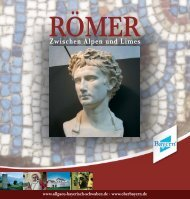 Die Römer im Süden Bayerns - Regio Augsburg