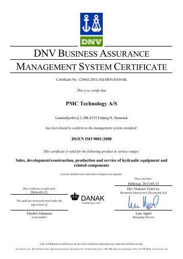 Bsi Iso 9001 Certificate Pdf Palintest