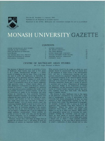 Volume 2 Number 1 - Adm.monash.edu - Monash University