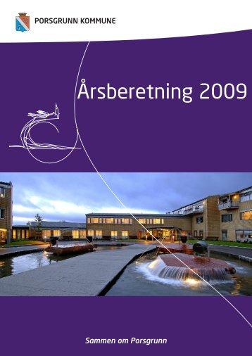 Årsmelding 2009 - Porsgrunn Kommune