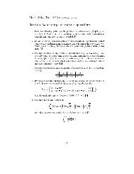 Math 311-1 Fall 1998 Final Examination Section A- attempt at most 5 ...