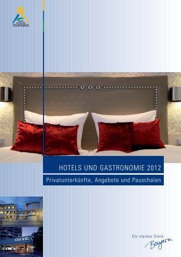 Hotel und Gastronomie 2012 - Regio Augsburg