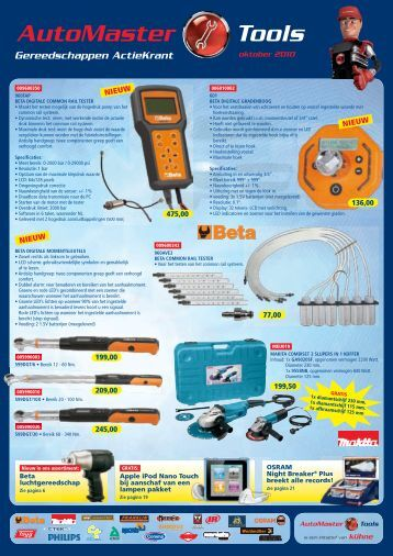 Automaster Tools