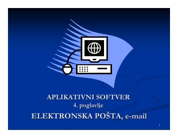 ELEKTRONSKA POÅTA, e-mail