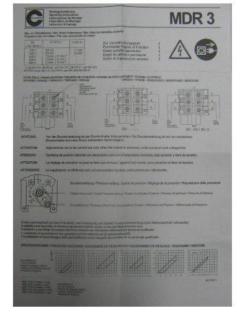 Microsoft Word - Presostat MDR3.doc - Romstal