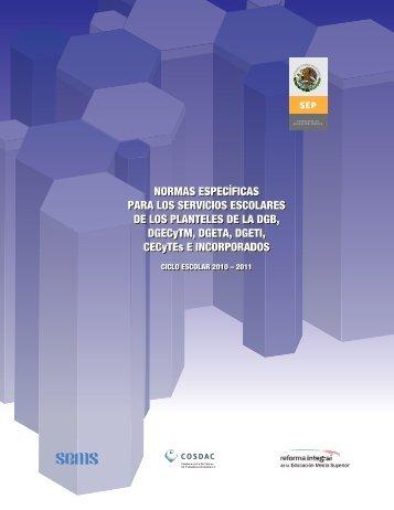 Normas Específicas - Normateca SEP - Secretaría de Educación ...