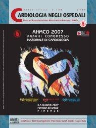 Cardiologia negli Ospedali n° 156 Marzo/Aprile 2007 - Anmco