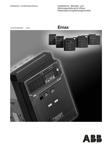 Emax - ABB SACE Division