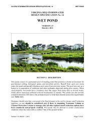 WET POND - Virginia Water Resources Research Center
