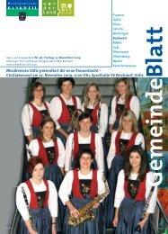 Musikverein Göfis präsentiert die neue Frauentracht ...