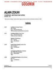 ALAIN ZOUVI - Agence Goodwin