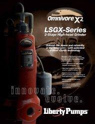 Liberty LSGX Brochure (PDF) - James Electric