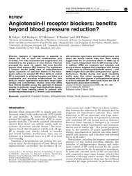 Angiotensin-II receptor blockers: benefits beyond blood ... - Rima