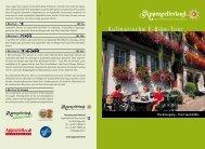 Kulinarische E-Bike-Tour - Appenzellerland Tourismus