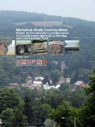 Marcellus Shale Communities: Report - CNY RPDB Home