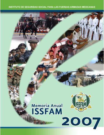 Memoria Anual 2007 - Issfam