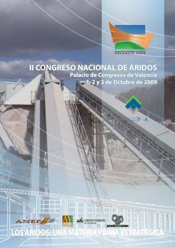 LOS ÁRIDOS: UNA MATERIA PRIMA ESTRATÉGICA - Colegio de ...