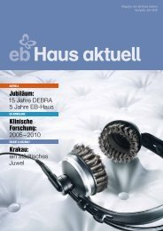Heft/Juli 2010 (PDF) - DEBRA Südtirol