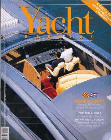Yacht capital Luglio 2006 (La numero uno) - Perini Navi