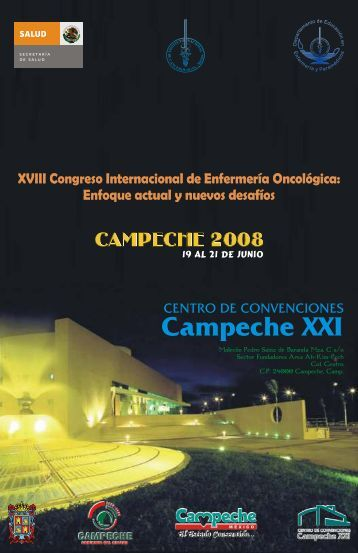 Programa Final EnferOnco Campeche.cdr - Instituto Nacional de ...