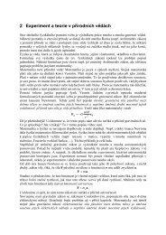 2 Experiment a teorie v přírodních vědách - Aldebaran