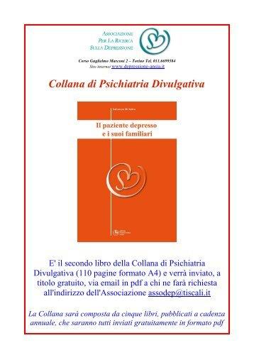 Collana di Psichiatria Divulgativa - Associazione per la Ricerca sulla ...