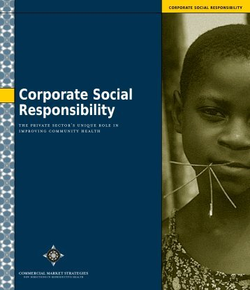 Corporate Social Responsibility - (SHOPS) project