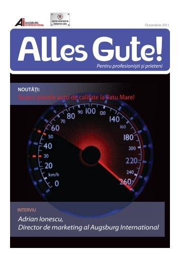 JAKOPARTS Lider în piese pentru masini ... - Augsburg International
