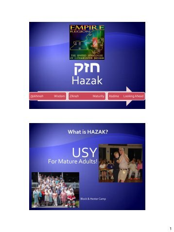 HAZAK PowerPoint Presentation (PDF Format)