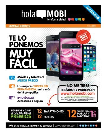Revista holaMOBI marzo digital
