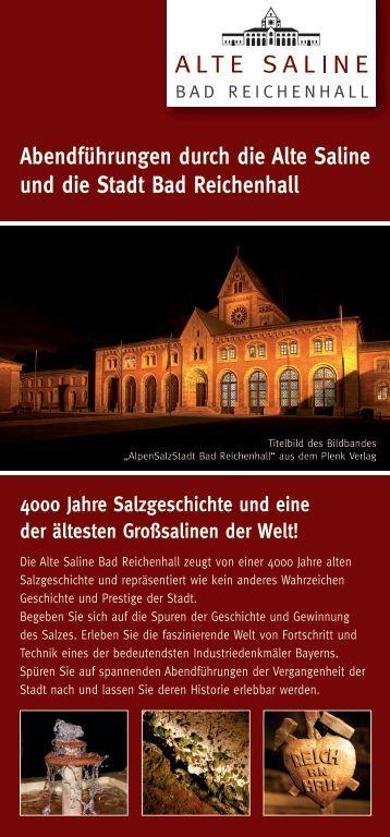 Abendführungen durch die Alte Saline und die Stadt Bad Reichenhall