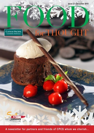 Issue 27 - Cathay Pacific Catering Services