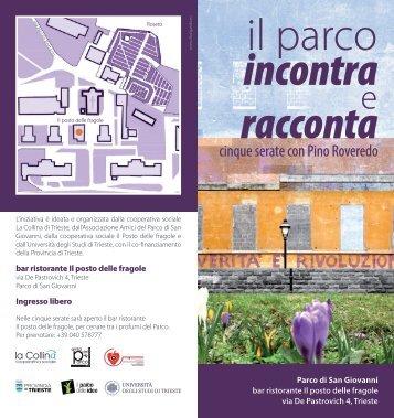 Brochure - Università degli Studi di Trieste