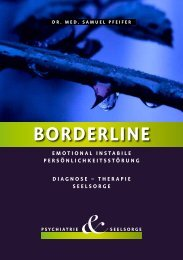 Borderline - emotional instabile ... - seminare-ps.net