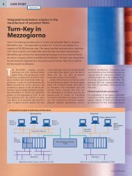Turn-Key in Mezzogiorno - Siemens Industry, Inc.