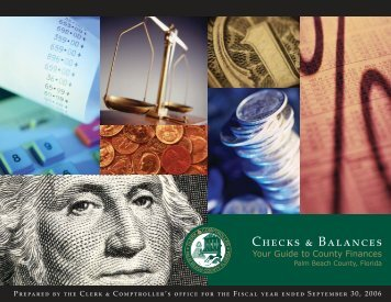 Fiscal Year 2006 - Clerk & Comptroller, Palm Beach County