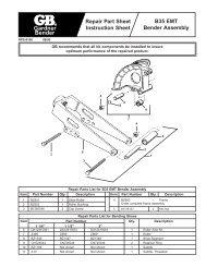 B35 Repair - Gardner Bender