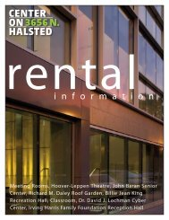 rental brochure - Center on Halsted