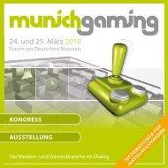 24. und 25. März 2010 - Munich Gaming