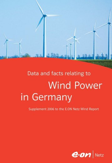 Wind Power in Germany - Industrial Wind Action Group