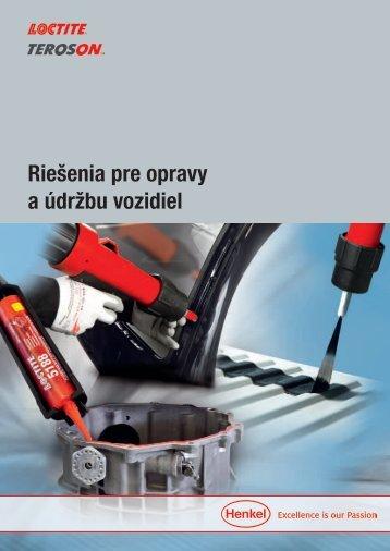 Riešenia pre opravy a údržbu vozidiel