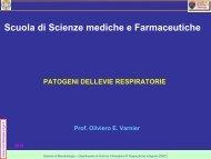 Scuola di Scienze mediche e Farmaceutiche - Sezione di ...