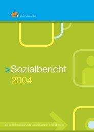 Sozialbericht 2004 - Betrieb für Sozialdienste Bozen