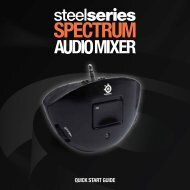 QUICK START GUIDE - SteelSeries