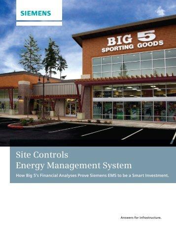 Site Controls Energy Management System - Siemens