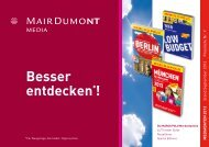 MARCO POLO Reisemedien - MairDumont Media