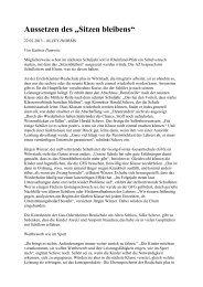 """Aussetzen des """"Sitzen bleibens"""" - Erich-Kästner-Realschule plus"""